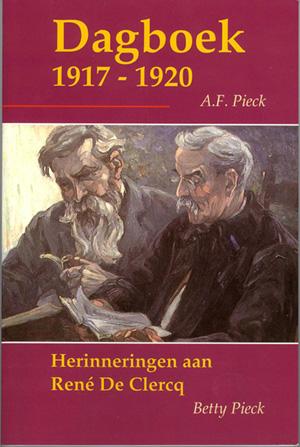 Dagboek 1917-1920 / Herinneringen aan René de Clercq